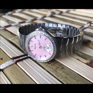 Bulova MOP Diamond Collection Watch